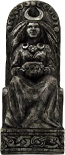 Dryad Design Seated Goddess Statue Stone Finish