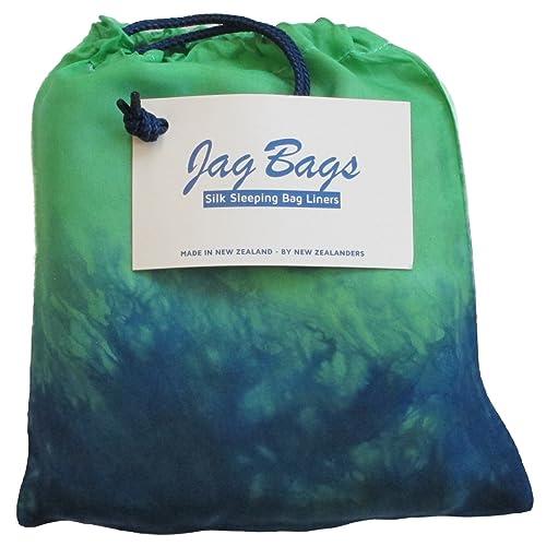 JagBag Deluxe Pure Silk Sleeping Bag Liner