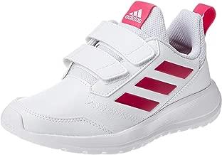 adidas AltaRun, Unisex Kids' Shoes, White (Ftwr White/Real Magenta/Ftwr White), 1.5 UK (33.5 EU)