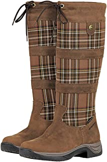 Ladies River Plaid Boots