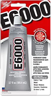Eclectic Products 230012 3.7 oz Amazing E-6000 Craft Adhesive Uncarded, Clear 4 Pack