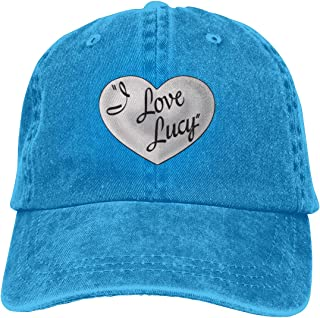 Denim Cap 006-i-love-lucy-theredlist.png Baseball Dad Cap Classic Adjustable Sports for Men Women Hat