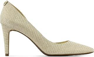 Michael Kors Women's Drothy Flex D'Orsay Glitter Chain Mesh 7 M, Gold, Size 7.0