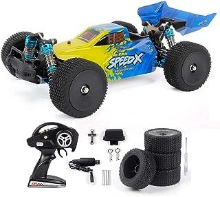 MissZZ RC Car Fast 1/14 4WD2.4GHz 70km / h Châssis Complet en métal Télécommande Haute Vitesse Accélérateur de Voiture à c...