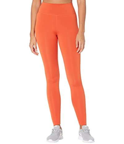 Nike One Tights (Mantra Orange/White) Women