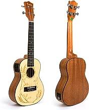 Electric Acoustic Concert Ukulele (UK-24)