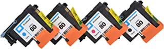Best Wenon Remanufactured HP 80 Printhead with New Updated Chips Compatiable for HP DesignJet 1050c 1050c Plus 1055C 1055cm 1055cm Plus Printer Review