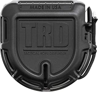 Unihoh TRD Paracord Tactical Rope Dispenser 50ft Spool, Duarble and Lightweight Cord Cutter Tool