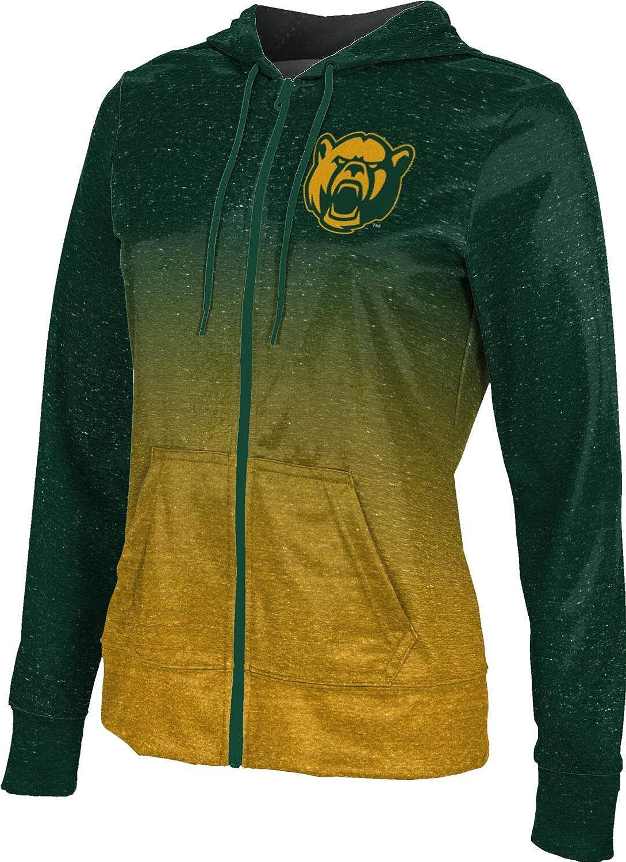 ProSphere Baylor University Girls' Zipper Hoodie, School Spirit Sweatshirt (Ombre)