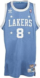 Kobe Bryant Los Angeles Lakers Light Blue Throwback Swingman Jersey