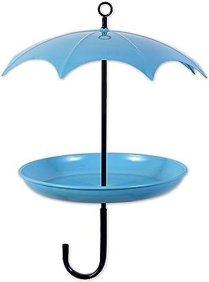 Sunset Vista Designs 93316 for The Birds Feeder, Blue Umbrella