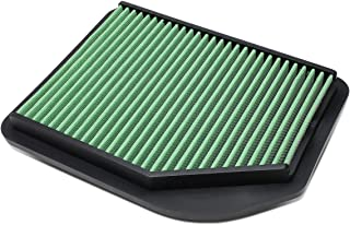 For Honda CR-V CRV 2.4L Washable Drop-in Panel Air Filter (Green)