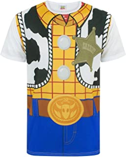 Toy Story Woody Cowboy Costume Outfit Men's Adults Novelty T-Shirt