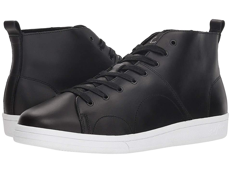 Fred Perry B721 X George Cox Monkey Boot Leather (Black) Men