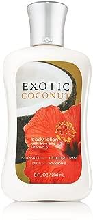 Bath & Body Works Exotic Coconut Pleasures Collection Body Lotion 8 fl oz (236 ml)
