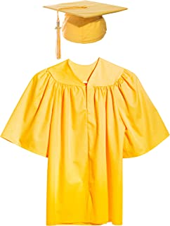 Child Graduation Set, Cap, Gown, Tassel, Charm