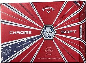 Callaway Golf Chrome Soft Truvis Golf Balls, (One Dozen)
