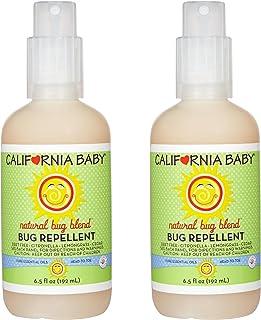 California Baby Bug Repellant Spray, 6.5 Ounce (2 Count)