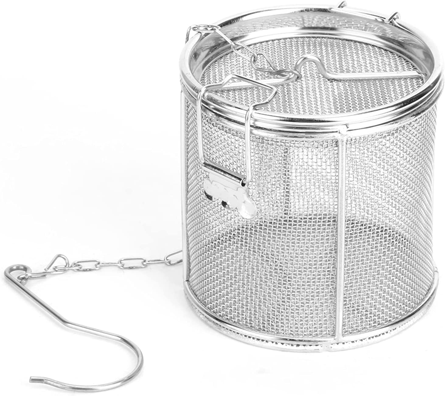 Tea Max 85% OFF Ball Strainer Stainless Steel Seperation Seasonings Bas Columbus Mall Soup