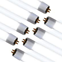 LED T5 Ballast Bypass Tube Light (8 PACK) Shatterproof; 120-277V; 20W; 3200 Lumens=160lms/w ; Rewire direct to AC power single sided connection; 50,000 Life Hours; 5 Year Warranty; UL & DLC Listed