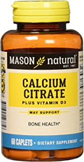 Sponsored Ad - Mason Natural CALCIUM CITRATE W/VIT D3 compare to CITRICAL + D 60-Count (Pack of 3)