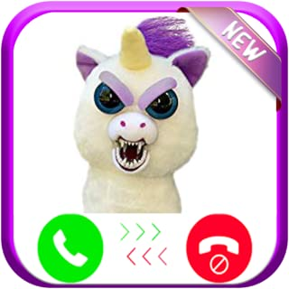 Instant-Real Live Fake Call From Scary Unicorn Evolution - Free Fake-Phone Calls ID PRO - FREE TEXT MESSAGE 2019 - PRANK FOR KIDS