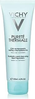 Vichy Pureté Thermale Hydrating Foaming Cream Cleanser, 4.2 Fl Oz