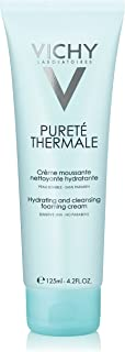 Vichy Pureté Thermale Hydrating Foaming Cream Cleanser, 4.2 Fl Oz