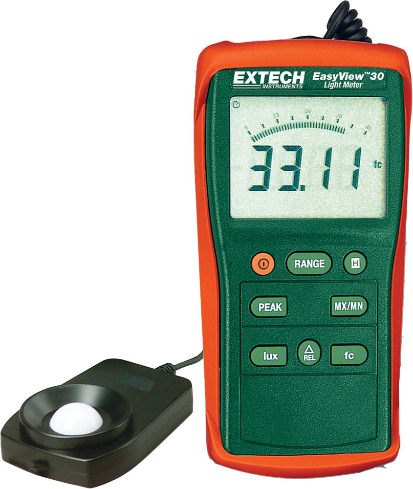 Extech EA30 Miami Mall Easy View Wide Range 000 40 Light Foot to Limited price Meter