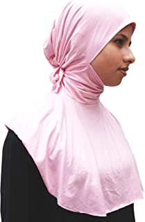 Unique Ninja Under-scarf Tie Behind Neck Tight Style Moroccan Inner Scarves Muslimah Hijab Kimar Fashion