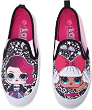 L.O.L. Surprise! Girls 11-2 Canvas Shoes with Glitter Sides