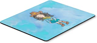 Caroline's Treasures BB7367MP Cowgirl Watercolor Mouse Pad, Hot Pad or Trivet, Large, Multicolor