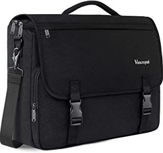 Messenger Bag for Men, 15.6 inch Laptop Bag,Crossbody Briefcases Satchel Shoulder Bag for Women School Teens Fit 15.6Inch Laptop Canvas Office with Detachable Shoulder Strap