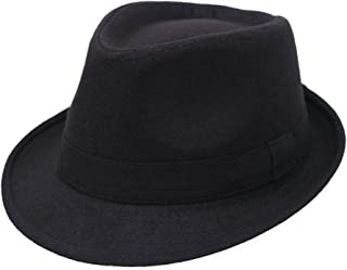 Sponsored Ad - Simplicity Unisex Timelessly Classic Manhattan Fedora Hat