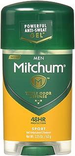 Mitchum Anti-Perspirant & Deodorant Clear Gel, Sport, 2.25 oz (63 g) (Pack of 12)