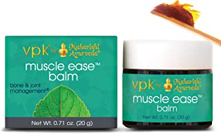 Muscle Ease Balm | 0.71 oz.| Therapeutic Balm for Sore Muscles & Joints | Unique Blend of 46 Herbs with Eucalyptus, Fennel...