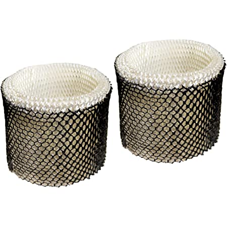 HQRP 2-pack Wick Filter compatible with Walgreens 890-WGN 890WGN Cool Mist Humidifier, W889-WGN Replacement