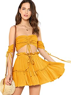 Best yellow two piece Reviews