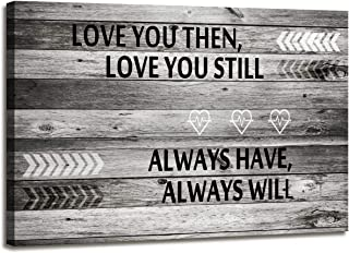 A71820 Small Size So Cute Canvas Wall Art Love You Still Wall Art (Light Weight Frame Ready to Hang) for Wall Decor