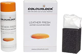 Colourlock Leather Fresh Dye DIY Repair Colour Restorer for Scuffs and Small Cracks on car interiors 150 ml Compatible with Porsche Schwarz/Black