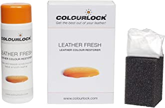 Colourlock Leather Fresh Dye DIY Repair Colour Restorer for Scuffs and Small Cracks on car interiors 150 ml Compatible with BMW Savannah Beige