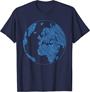 Planet Earth Silhouette Shirt Earth Day Gift 22 April 2018