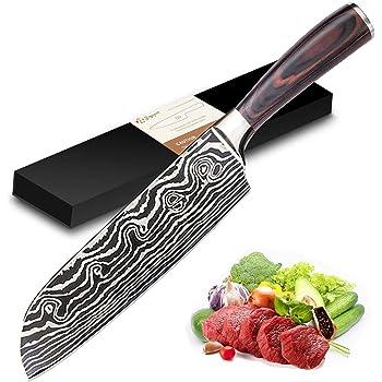 Compra 3 Claveles - Juego de 3 Cuchillos Profesionales Estilo Japonés Gama Osaka, Hojas Unicas Forjadas a Mano, Selección Master Chef en Amazon.es