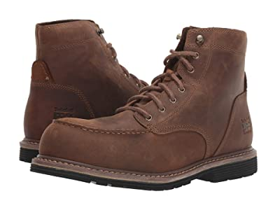 Timberland PRO Millworks 6 Moc Toe Composite Safety Toe (Brown Gaucho) Men