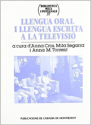 Llengua oral i llengua escrita a la televisió