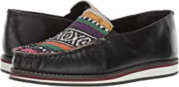 Black Leather/Serape