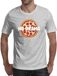 Funny Math Pizza Volume Man's 3D Print Graphic Room Round Neck Ultra Short Sleeve Crew Neck Top-tee