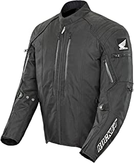 Joe Rocket Honda CBR Textile Jacket (MEDIUM) (BLACK/BLACK)