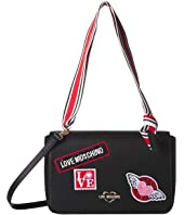 LOVE Moschino - Patch Top-Handle Bag
