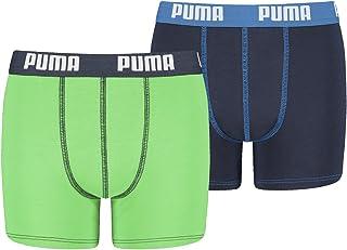 PUMA - Set de 4 calzoncillos bóxer para niños, colección 2016/2017, 95% de algodón de calidad,...